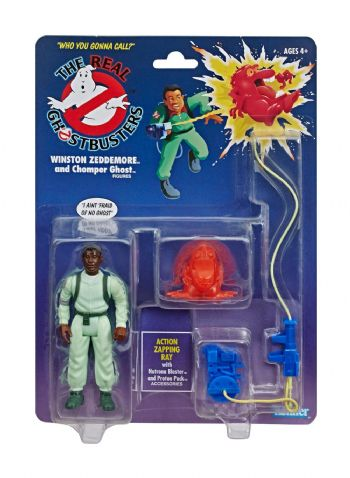 Ghostbusters - The Real Ghostbusters Animated Kenner Classics Winston Zeddemore Action Figure